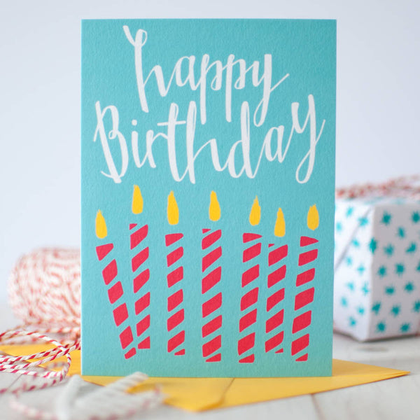 Greeting cards betty etiquette sold out red candles happy birthday card m4hsunfo