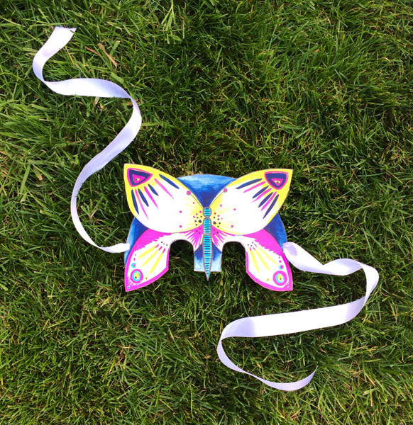 Free Printable Kids MiniBeast Mask