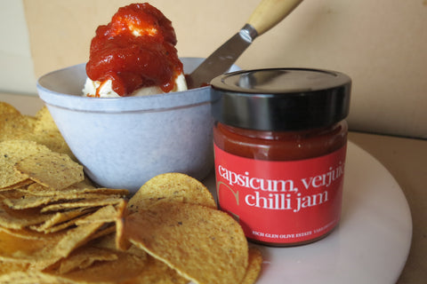 Cream Cheese w/ Chilli Jam