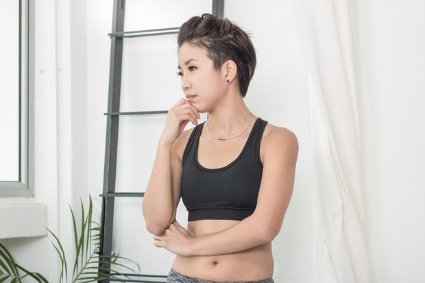 LIS! Black Edition Support Sport Bra