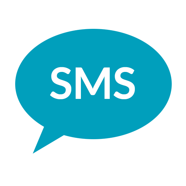 SMS package Rest of the World: 1000 SMS messages