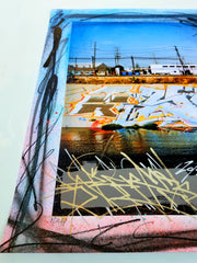 Hand Painted LA River Giclee