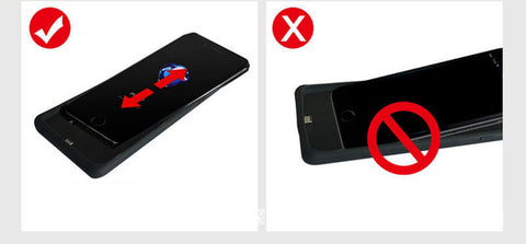 how to use xincol iphone battery case