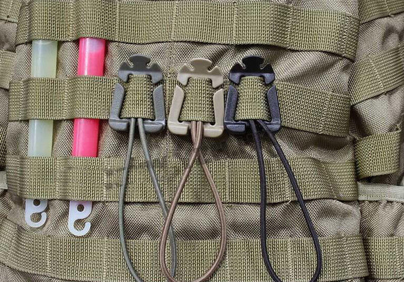 Military Camping Hiking Backpack Buckle Gadgets
