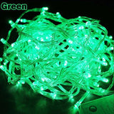 Waterproof AC220V LED string Fairy light Christmas Wedding Outdoor Garland Decoration Light