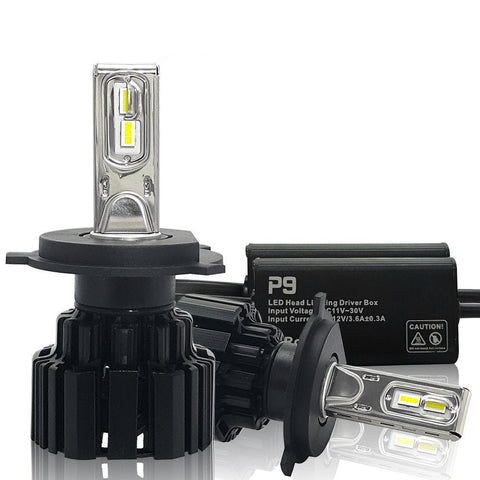 Super Bright LED Car Headlight Bulbs H7 H11/H8 9005/HB3 9006/HB4 9012 D1/D2/D3/D4 H4  45W 6800Lm 6000K Pure White