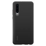 Huawei P30 Silicone Case Black