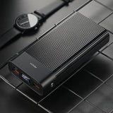 Rock P82 18W PD Fast Charging QC3.0 Supercharge Powerbank 20000mAh with Digital Display Black T54LP