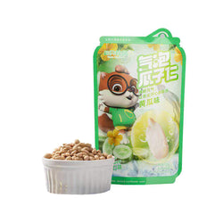 Three Squirrels Bubbly Shelled Sunflower Seeds Cucumber Flavor 120g