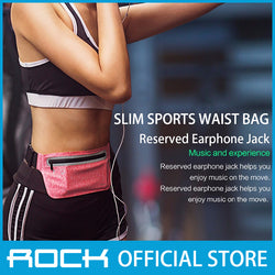 Rock Slim Sports Waist Bag Rose Red RST1018