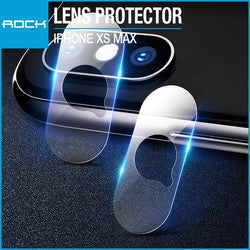 Rock Lens Tempered Glass Protector 0.15mm 2-Pack Transparent for iPhone XS Max