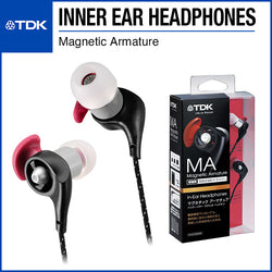 TDK LoR Magnetic Armature (MA) In-Ear Headphones TH-ECMA600 Black