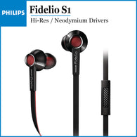 Philips Fidelio S1 Hi-Res Headphones with Mic