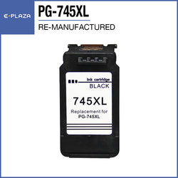 Re-manufactured Ink Cartridge Compatible Canon PG-745XL Black