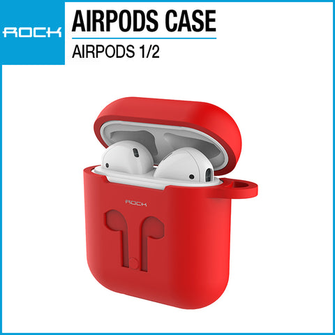 Rock Airpods Carrying Case Red RAU0607