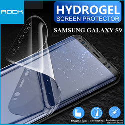 Rock 9D Hydrogel Screen Protector 0.18mm Transparent for Galaxy S9