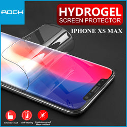 Rock 9D Hydrogel Screen Protector 0.18mm Transparent for iPhone XS Max