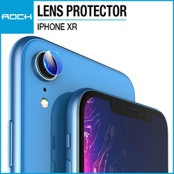 Rock Lens Tempered Glass Protector 0.15mm Transparent 2-Pack for iPhone XR