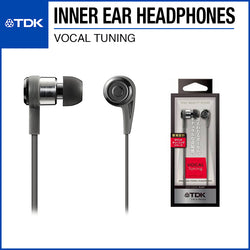 TDK CLEF-P Vocal Tuning In-Ear Headphones TH-PVEC300 Black