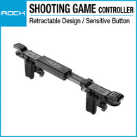 Rock Retractable Shooting Game Controller Black RPH0891