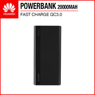 Huawei CP22QC 18W Fast Charge QC3.0 20000mAh Quick Charge Powerbank Black