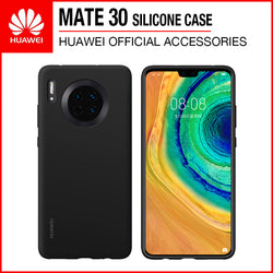 Huawei Mate 30 Silicone Case Black