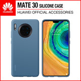 Huawei Mate 30 Silicone Case Blue