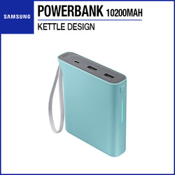 Samsung Powerbank Battery Pack 10200mAh Kettle Design Blue