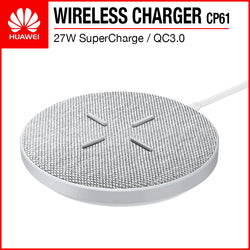 Huawei CP61 SuperCharge 27W QC3.0 Fast Charging Wireless Charger Gray