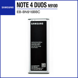 Samsung Galaxy Note 4 Duos N9100 Battery 3000mAh EB-BN916BBC