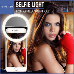 Selfie Ring Light Battery Set Blue