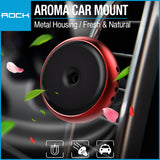 Rock Universal Air Vent Magnetic Car Mount (Aroma) Red RPH0833