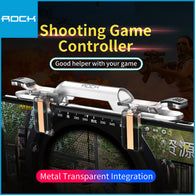 Rock Retractable Shooting Game Controller White RPH0871