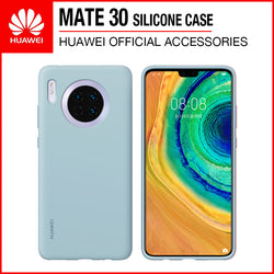 Huawei Mate 30 Silicone Case Light Blue