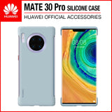Huawei Mate 30 Pro Silicone Case Light Blue