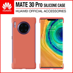 Huawei Mate 30 Pro Silicone Case Orange