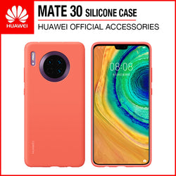 Huawei Mate 30 Silicone Case Orange