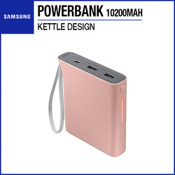Samsung Powerbank Battery Pack 10200mAh Kettle Design Pink