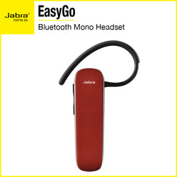 Jabra EasyGo Bluetooth Mono Headset Red