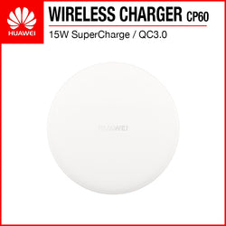 Huawei CP60 SuperCharge 15W/10W/7.5W/5W QC3.0 Fast Charging Wireless Charger White