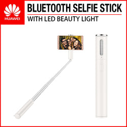 HUAWEI CF33 Bluetooth Selfie Stick with LED Beauty Light White