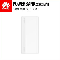 Huawei CP22QC 18W Fast Charge QC3.0 20000mAh Quick Charge Powerbank White