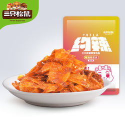 Three Squirrels Spicy Bean Skin 三只松鼠 香辣豆皮 60g