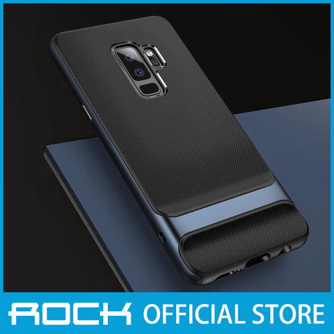 Rock Royce Series Protective Shell Case for Galaxy S9 Plus Navy RPC1405
