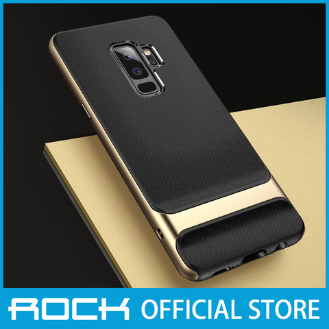 Rock Royce Series Protective Shell Case for Galaxy S9 Plus Gold RPC1405