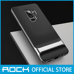 Rock Royce Series Protective Shell Case for Galaxy S9 Plus Gray RPC1405