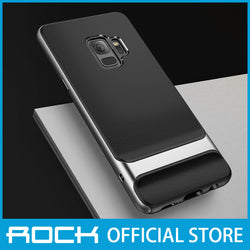 Rock Royce Series Protective Shell Case for Galaxy S9 Gray RPC1404