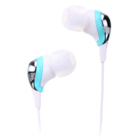 TDK EC250 Clef String Inner Ear Stereo Headphones Teal