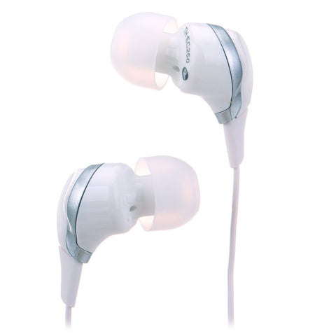 TDK EC250 Clef String Inner Ear Stereo Headphones White