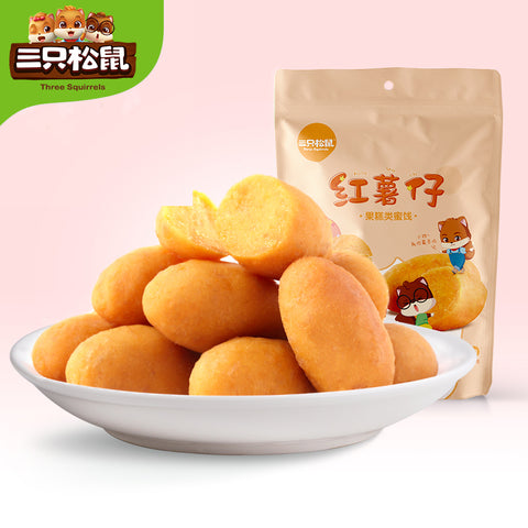 Three Squirrels Sweet Potato 三只松鼠 红薯仔 100g